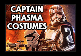 Star Wars The Force Awakens Captain Phasma Costumes