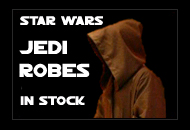 Jedi Robes Dark Brown