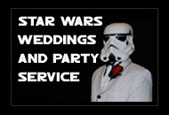 Star Wars Weddings and party service