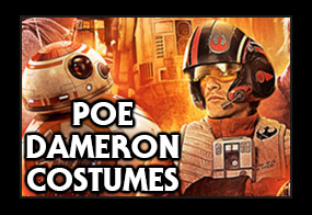 Star Wars Episode 7 Poe Dameron Costumes