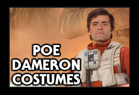 Star Wars The Force Awakens Poe Dameron Costumes