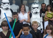 Imperial Stormtroopers assist to raise funds for GOSH for Children.