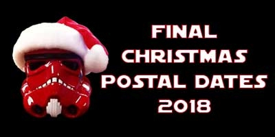 Christmas and New Year Final Postal Dates 2018