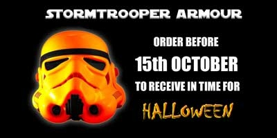 Star Wars Halloween Stormtrooper Armour orders 2018