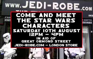 Jedi-Robe.com Summer Fundraising Day