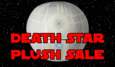 Death Star Plush Toy SALE