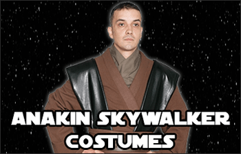 Star Wars Anakin Skywalker Costumes available at www.Jedi-Robe.com - The Star Wars Shop
