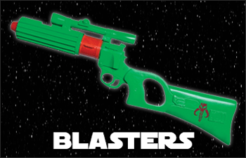 Star Wars Blasters available at www.Jedi-Robe.com - The Star Wars Shop