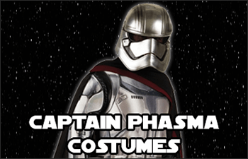 Star Wars Captain Phasma Costumes available at www.Jedi-Robe.com - The Star Wars Shop