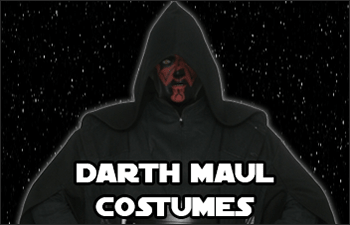 Star Wars Darth Maul Costumes available at www.Jedi-Robe.com - The Star Wars Shop