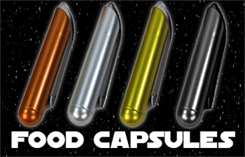 Star Wars Jedi and Sith Food Capsules available at www.Jedi-Robe.com - The Star Wars Shop