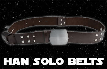 Star Wars Han Solo Belt and Holsters available at www.Jedi-Robe.com - The Star Wars Shop