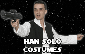 Star Wars Han Solo Costumes available at www.Jedi-Robe.com - The Star Wars Shop
