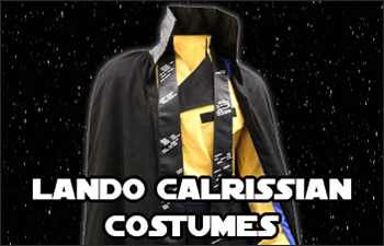 Star Wars Lando Calrissian Costumes available at www.Jedi-Robe.com - The Star Wars Shop