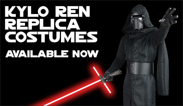 Star Wars The Force Awakens Kylo Ren Replica Costumes available at www.Jedi-Robe.com