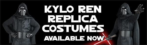 Star Wars The Force Awakens Kylo Ren Costumes available at www.Jedi-Robe.com - The Star Wars Shop