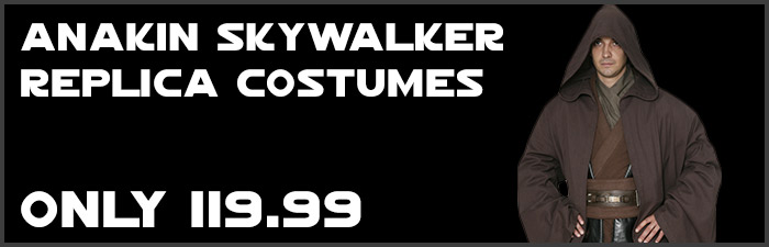 Quality Anakin Skywalker Replica Costumes available at www.Jedi-Robe.com - The Star Wars Shop