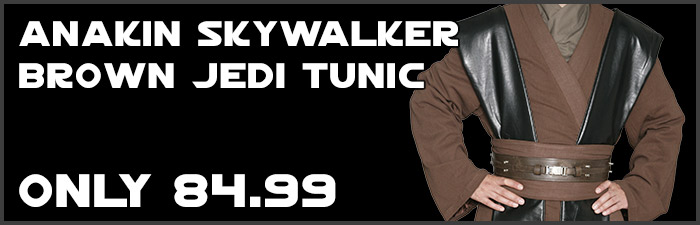 Star Wars Anakin Skywalker Replica Costumes available at www.Jedi-Robe.com - The Star Wars Shop
