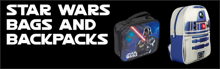 Star Wars Bags and Backpacks available at www.Jedi-Robe.com - The Star Wars Shop....