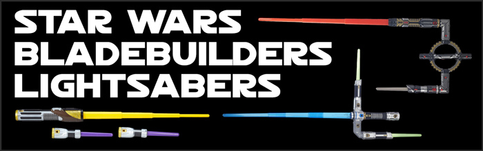 Star Wars Bladebuilders Lightsabers available at www.Jedi-Robe.com - The Star Wars Shop....