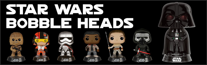 Star Wars Bobble Heads available at www.Jedi-Robe.com - The Star Wars Shop....