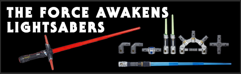 Star Wars The Force Awakens Lightsabers available at www.Jedi-Robe.com - The Star Wars Shop....