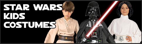 Star Wars Childrens Costumes available at www.Jedi-Robe.com - The Star Wars Shop....