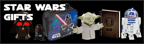 Star Wars Gifts available at www.Jedi-Robe.com - The Star Wars Shop....