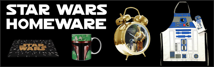 Star Wars Homeware available at www.Jedi-Robe.com - The Star Wars Shop....
