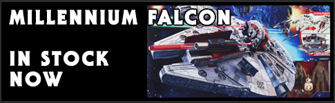 Star Wars MIllennium Falcons available at www.Jedi-Robe.com - The Star Wars Shop....
