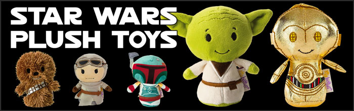 Star Wars Plush Toys available at www.Jedi-Robe.com - The Star Wars Shop....