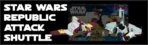 Star Wars Republic Attack Shuttle available at www.Jedi-Robe.com - The Star Wars Shop....