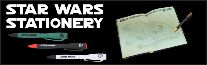 Star Wars Stationery available at www.Jedi-Robe.com - The Star Wars Shop....