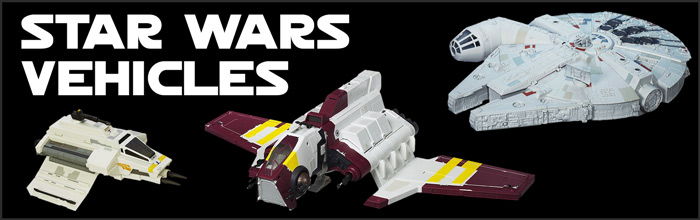 Star Wars Vehicles available at www.Jedi-Robe.com - The Star Wars Shop....
