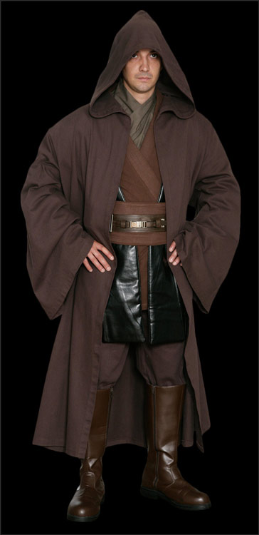 Star Wars Anakin Skywalker Replica Jedi Costumes available at www.Jedi-Robe.com - The Star Wars Shop