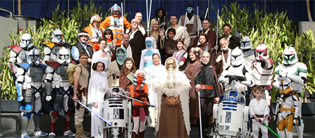 The Famous Star Wars Rebel Legion Costume Group