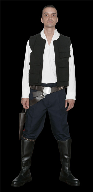 Star Wars Han Solo Replica Costumes available at www.Jedi-Robe.com - The Star Wars Shop
