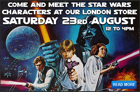 Meet the characters at our Star Wars London Store