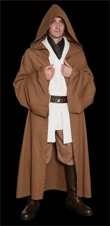 Star Wars Obi-Wan Kenobi Replica Jedi Costumes available at www.Jedi-Robe.com - The Star Wars Shop
