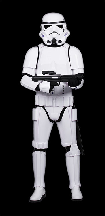 Stormtrooper White Armour Costumes Costumes available at www.Jedi-Robe.com - The Star Wars Shop