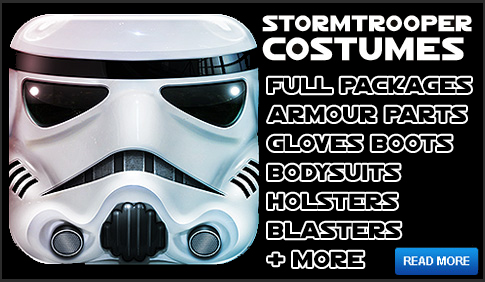 Stormtrooper Costumes and Accessories available at www.Jedi-Robe.com