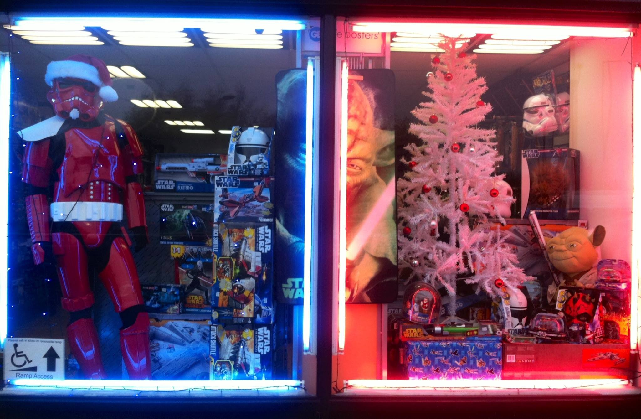Star Wars Shop at Christmas