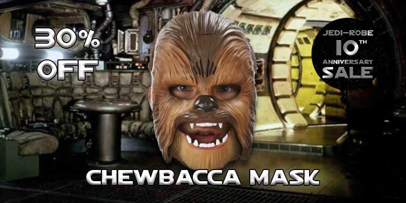 Star Wars Electronic Chewbacca Mask 30% off sale