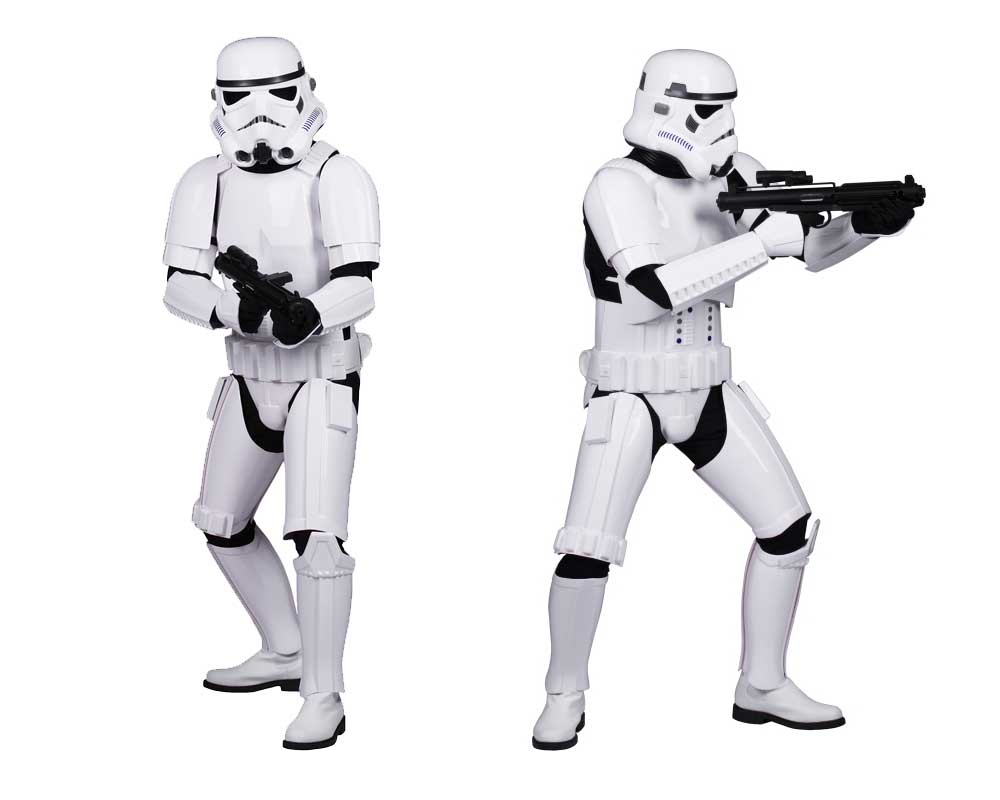 Stormtrooper armour costume guide help fitting