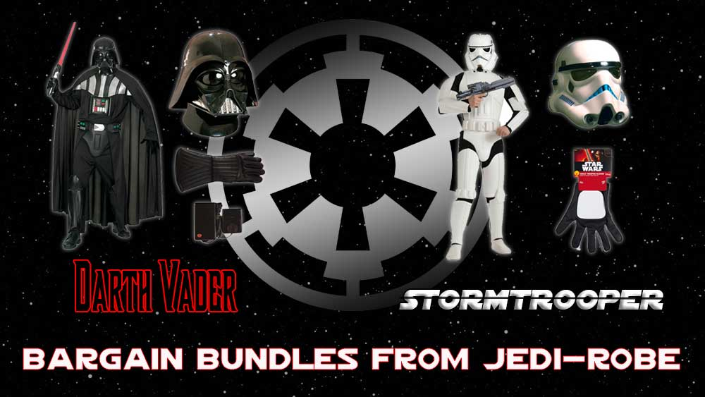 Star Wars Fancy Dress Costume Bargain Bundles from Jedi-Robe.com