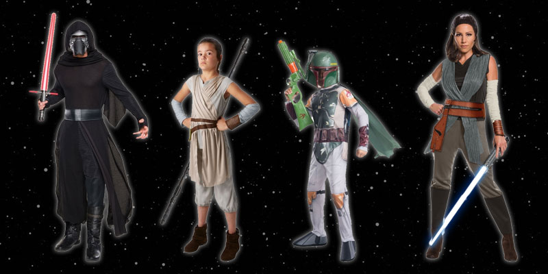 Star Wars Costume Bundles from Jedi-Robe.com