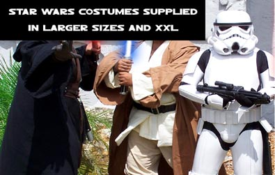 Plus Size Star Wars Fancy Dress Costumes