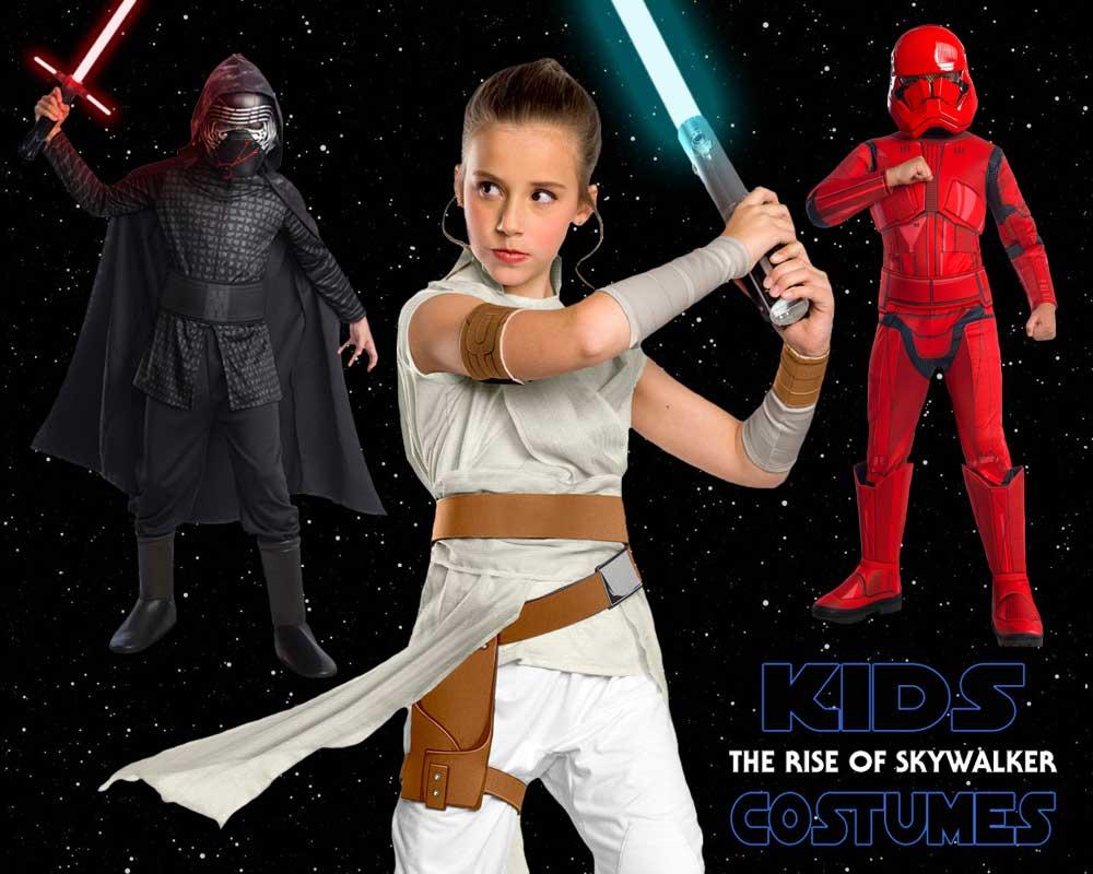 New Star Wars The Rise of Skywalker Kylo Ren Cosplay Costume Halloween Superhero