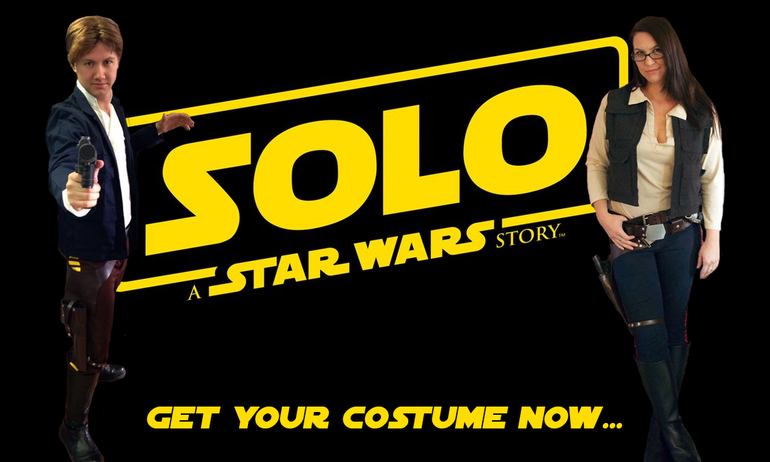 Han Solo Costumes for Solo: A Star Wars Story