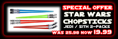 Star Wars Chopsticks Special Offer